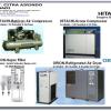 HITACHI Air Compressor & ORION Air Dryer