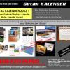 Terima Cetak Kalender 2011
