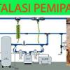 Instalasi pipa udara kompressor