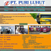 Ekspedisi Angkutan Barang Truk Box PT. Puri Luhut