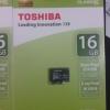Microsd Class10 Toshiba 16GB